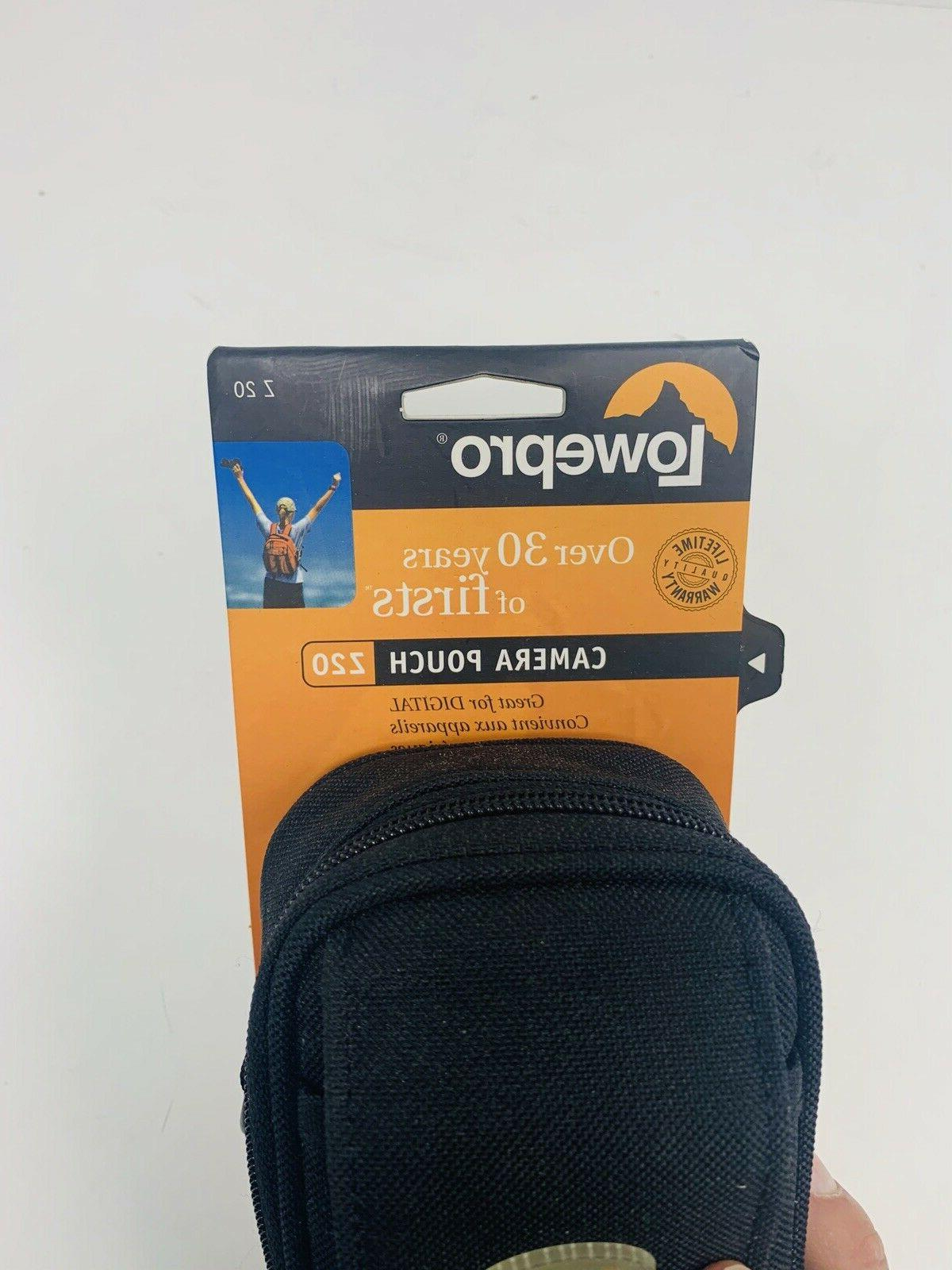 Lowepro Carrying Camera Pouch Black