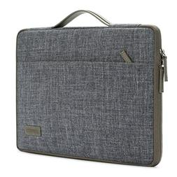 DOMISO 10 Inch Laptop Sleeve Canvas Notebook Portable Carryi