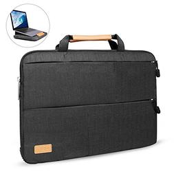 WIWU 15.4 Inch Laptop Sleeve Case with Stand Features for Ma