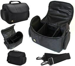 Deluxe Large Camera Carrying Bag Case For Nikon D5000 D5100