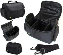 Large Deluxe Carrying Case Camera Bag For Canon EOS Rebel T6