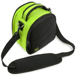 VanGoddy Laurel Neon Green Carrying Case Bag for Canon EOS/R