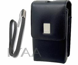 Canon Leather Carrying Case Bag & Wrist Strap for PowerShot