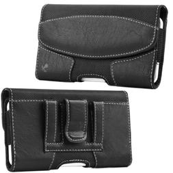 Luxmo Leather Cell Phone Case Cover Carrying Pouch Holder Be