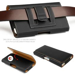 Leather Holster Belt Clip Carrying Case Pouch For Samsung Ga
