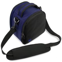 Magic Blue VanGoddy Laurel SLR Camera Carrying Bag for Canon