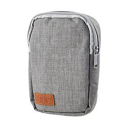 BCP Multi-Function Gray Travel Electronic Accessories Bag Or