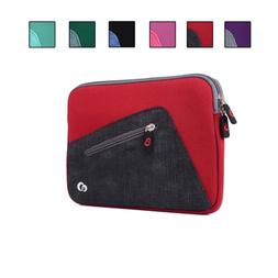 Neoprene Zipper Carrying Case with Accessory Pocket for 9 In