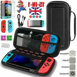 For Nintendo Switch Carrying Case Hard Bag Storage+Screen Pr