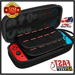 JETech Carrying Case for Nintendo Switch with 20 Game Cartri