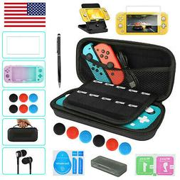 For Nintendo Switch Lite Carrying Case Bag /Shell Cover /Gla