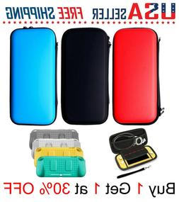 For Nintendo Switch LITE Carrying CASE + SCREEN PROTECTOR or