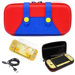 For Nintendo Switch LITE Deluxe Mario Carrying Case + Screen