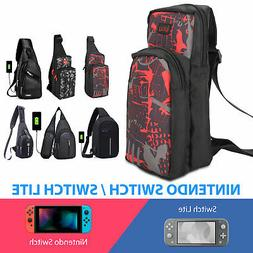 For Nintendo Switch/ Lite Shoulder Bag Carrying Case Protect