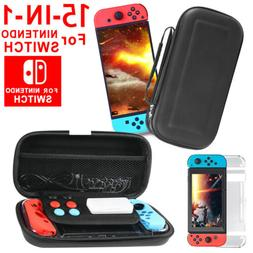 For Nintendo Switch Travel Carrying Case Bag Screen Protecto