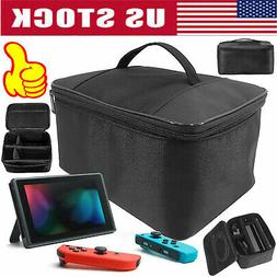 For Nintendo Switch Travel Cover Carry Bag Case Storage w/ C