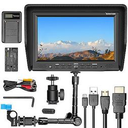 Neewer NW-708M 7 inches On-Camera Field Monitor Kit:800x480