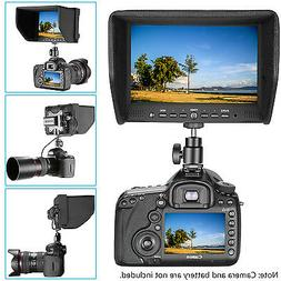 """Neewer NW708-M 7"""" On-Camera Field Monitor for Canon Nikon So"""