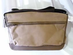 NWT COACH MESSENGER BRIEFCASE LAPTOP CARRY CASE IN BROWN CAN