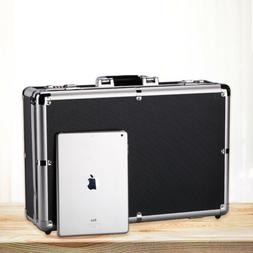 password aluminum business briefcase office file storage