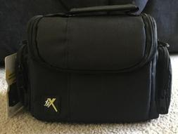 Xit Photo Digital Camera/Video Padded Carrying Case New Blac