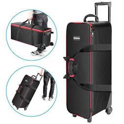Neewer Photography Kit Roller Case Carrying Bag for Light St