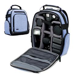 Portable Camera Backpack for DSLR/SLR  by USA Gear with Cust