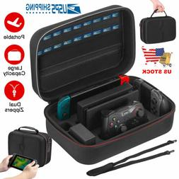 Portable Deluxe Carrying Case for Nintendo Switch Protected