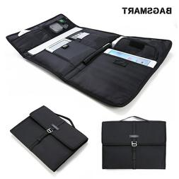 BAGSMART Portable Slim Laptop Briefcase Travel Tablet Portfo