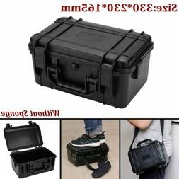Portable Storage Box Waterproof Hard Carry Case Bag Tool Org