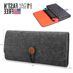 Portable Travel Bag Carrying Case Felt Pouch Storage Bag for