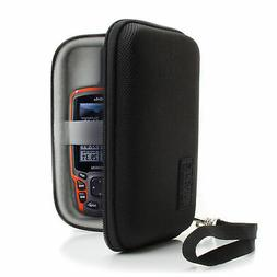 Protective Hard Shell Electronics Carrying Case with Accesso