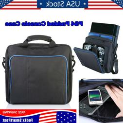 For PS4/Slim/PS3 Game Consoles Accessories Shoulder Bag Blac