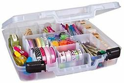 ArtBin Quick 6961AB Quik-View DEEP Base Carrying CASE, 15 in