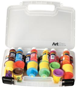 ArtBin Small Quick View Carrying Case-10.25X3.25X9.625 Trans