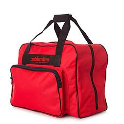 Red Sewing Machine Carrying Case Carry Tote/Bag COMPATIBILIT