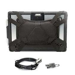 CTA Digital Security Carrying Case with Kickstand and Anti-T