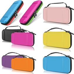 Fintie Shockproof Carry Case for Nintendo Switch w/10 Game C