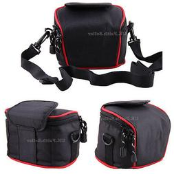Shoulder Waist Camera Carry Case For Canon PowerShot SX170IS