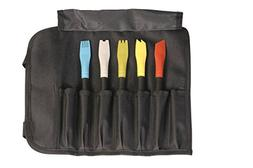Mercer Culinary Silicone Plating Brush Set – 5 Brushes and