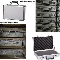 Small Aluminum Hard Storage Cases Hunting Carrying Case Offi