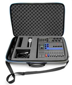 Studio Case for Zoom Podcast Digital Mixer Livetrak L8 Recor