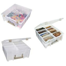 ArtBin Super Satchel Double Deep With 2 To 8 Removable Divid