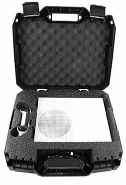 Casematix Travel Carry Case Compatible with Xbox 1 S 1TB Vid