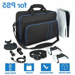 Travel Carrying Case Storage Shoulder Bag Pouch For PS5 Game