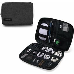 Travel Electronic Organizer Case Carrying Portable Bag Cable