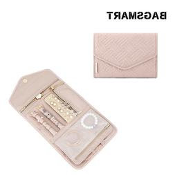 BAGSMART Travel Foldable Pouch Roll Jewelry Case Jewellery O