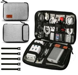 HENMI Universal Travel Cable Organizer Bag Electronic Access
