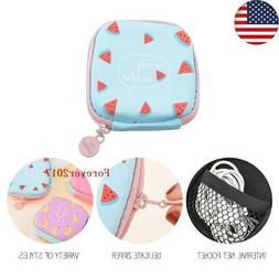 USNew Carrying Hard Case Storage Bag Hold for Earphone Headp