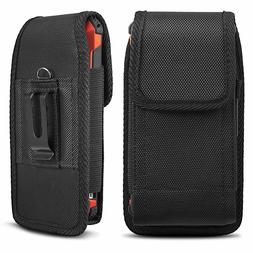 Vertical Holster Belt Clip Carrying Case Pouch for iPhone XS